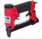 Pneumatic stapler for